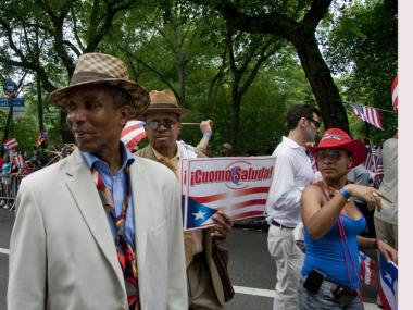 The Puerto Rican Day parade brought millions to Fifth Avenue.