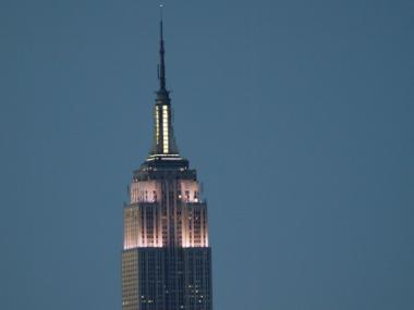 The Empire State Building's owners said bedbugs were found in the basement.