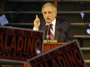 Carl Paladino blasted the MTA as bloated and mismanaged Wednesday.