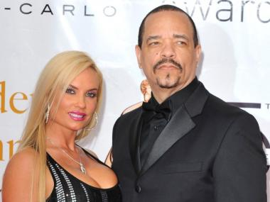 Rapper-turned-actor Ice-T was arrested Tuesday for not wearing a seat belt and driving with a suspended license, police said.