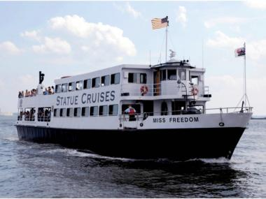 Statue Cruises, which runs the ferries to the Statue of Liberty and Ellis Island, hopes to take tourists between New Jersey and the 9/11 memorial.