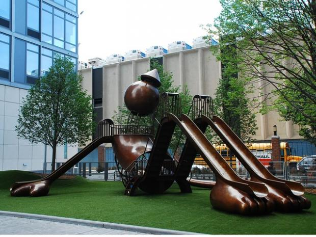 Tom Otterness Playground Is A Hit With Kids And Parents