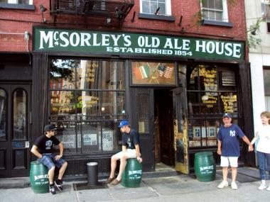 McSorley's on East Seventh Street is being sued over an alleged attack by their pet cat.