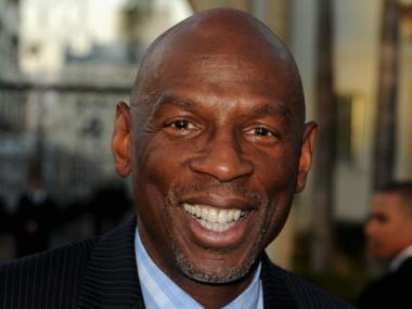 Geoffrey Canada, CEO of the Harlem Children's Zone, attends a premiere of the documentary