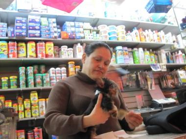 Annette Frias, an employee at Ideal Pet Warehouse for seven years, said one of the reasons she has been at her job so long is that her boss gives her paid sick leave even though there's no written policy.