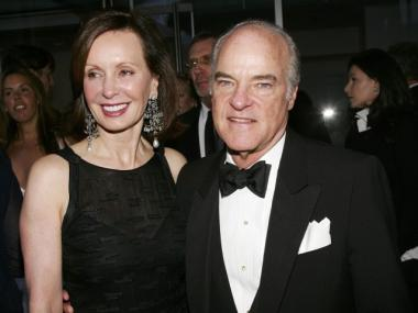 Henry Kravis, seen with wife Marie-Josee Kravis, pledged the largest donation in Columbia Business School History, according to a Tuesday statement.