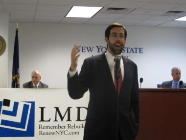 State Sen. Daniel Squadron is running for reelection in District 25, which covers lower Manhattan.