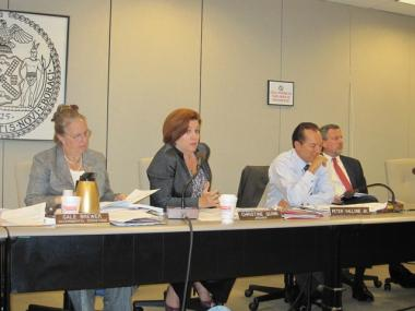 City Council Speaker Christine Quinn grills the Board of Elections on problems encountered during the primary election.