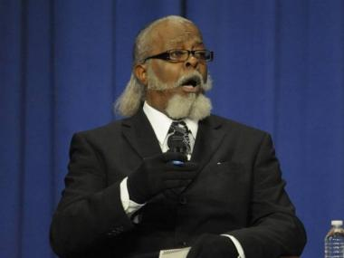 Jimmy McMillan of the Rent Is Too Damn High party.