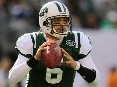 Mark Sanchez threw three touchdown passes to rally the Jets to a 30-27 win over the Houston Texas on Sunday.