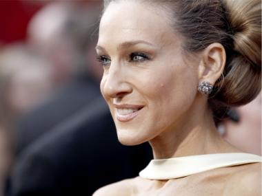 Actress Sarah Jessica Parker at the 2010 Oscars in Los Angeles.