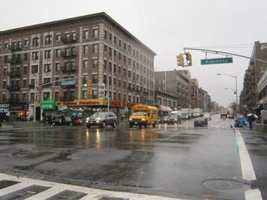 The West 145th Street corridor, centered at the intersection with Broadway, is a focus of the rezoning of West Harlem.