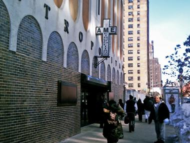 Family and friends attend a funeral for Gregory Willis at the AME Church on West 135th Street in Harlem, Jan. 31.
