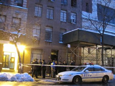 A resident of 362. E. 10th Street may have set fire to his apartment before killing himself.