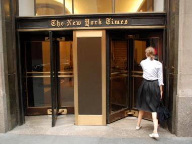 The New York Times will start charging for access to its website.