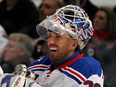 Henrik Lundqvist, goalie for the New York Rangers, is a partner in a new TriBeCa restaurant called Tiny's.