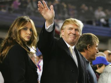Donald Trump has expressed interest in buying a majority share of the Mets.