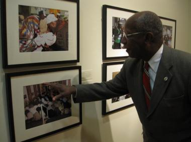 Howard Dodson Jr.,director of the Schomburg Center for Research in Black Culture and co-curator of Harlem Views/Diasporan Visions: The New Harlem Renaissance Photographers, discusses one of the photos.