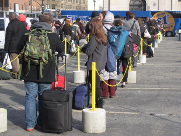 Staten Island Ferry Pick Up Point