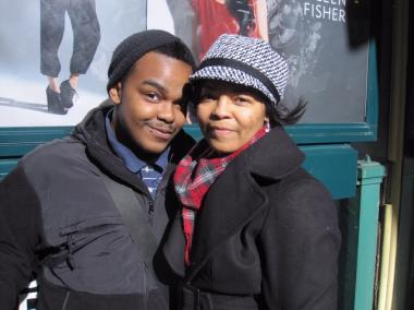 Natasha Jackson, 46, and her son William, 16, considered driving instead of taking the bus after seeing images of Saturday's crash.