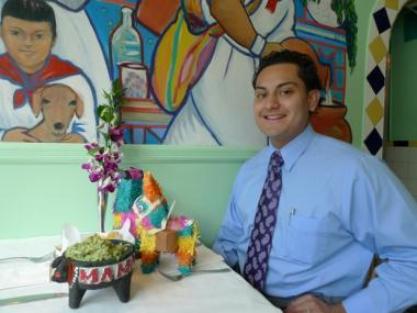 Juan Rojas, Jr.'s father opened Mama Mexico at West 102nd and Broadway 15 years ago.