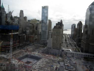 The Deutsche Bank building is gone and the rebuilding at the World Trade Center site is moving forward, so the Lower Manhattan Development Corp. has less work to do.