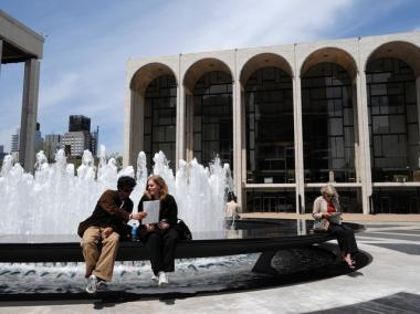 The New York City Opera is leaving Lincoln Center to save money.