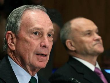 Mayor Michael Bloomberg and Police Commissioner Raymond Kelly participate in Senate Homeland Security and Governmental Affairs Committee hearing on Capitol Hill, on May 5, 2010 in Washington DC