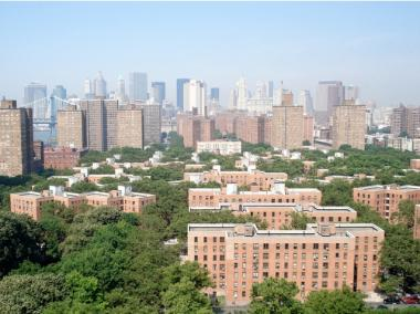The Vladeck Houses stretch over 13 acres on the Lower East Side, housing nearly 3,000 residents.