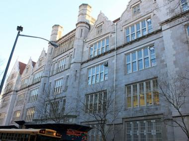 P.S. 166 on the Upper West Side was one of 10 public schools that received grants for cutting energy consumption.