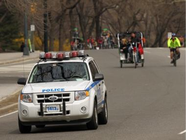 Police say they're backing off a zero tolerance policy that snared red light running cyclists in Central Park.