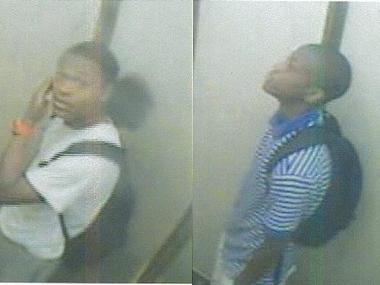 These men are wanted for a pair of recent armed robberies at Midtown hotels.