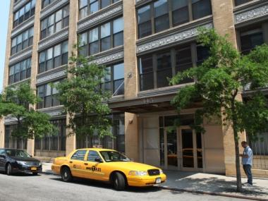A 52-year-old man fell to his death from this W. 13th Street building in the Meatpacking District Thursday morning.
