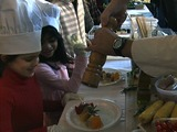 TriBeCa Kids Give Local Chefs a Hand in the Kitchen
