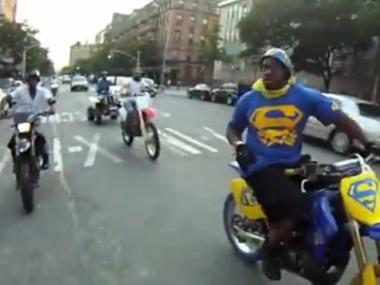 Dirt Bikes In Nyc Dirt Bikers Terrorizing Harlem