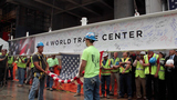 Final Steel Beam Tops Off 4 World Trade Center