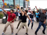 'Gangnam Style' Flash Mob Hits Jackson Heights With Bengali Twist