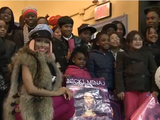 Nicki Minaj Pays Secret Visit to Queens School