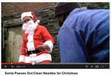 Santa Delivers Syringes and Condoms in Bronx Health Clinic's Holiday Video