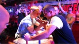 Arm Wrestlers Do Battle of the Biceps at NYC Big Apple Grapple