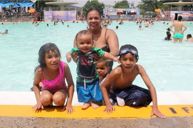 Astoria residents rejoice as public pools open for summer for Opening pool for summer