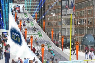 Times Square to Become 'Super Bowl Boulevard' This Winter