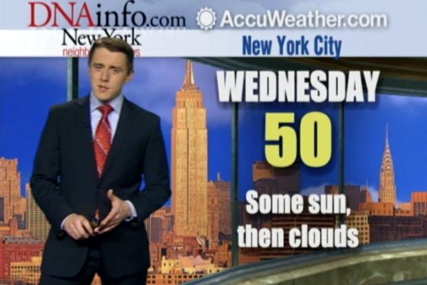DNAinfo New York Weather Forecast Jan. 15, 2014