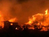 VIDEO: Massive Fire in Breezy Point Engulfs 80 Homes During Hurricane Sandy
