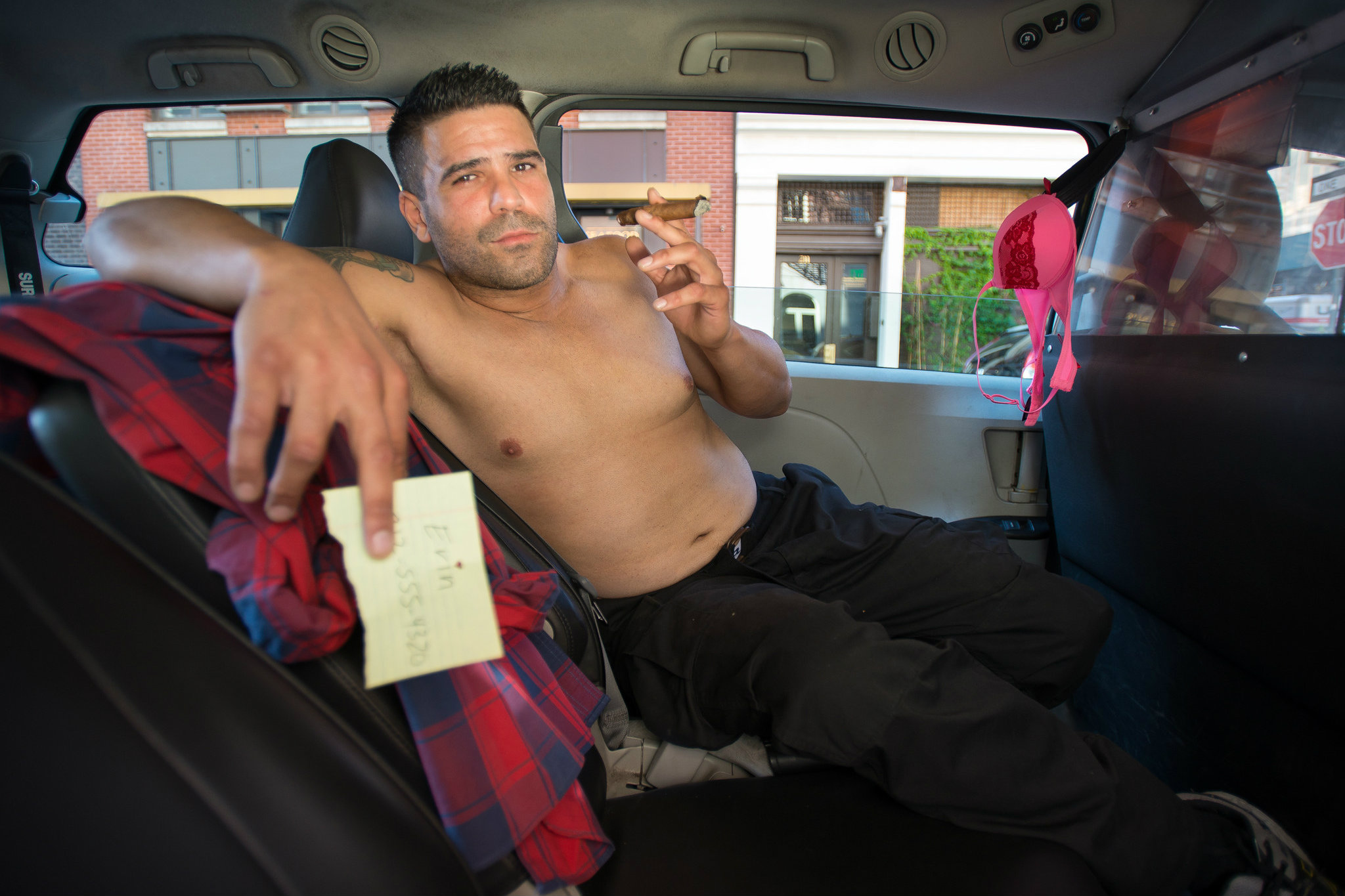 Таксист разводит девушку 8 фотография