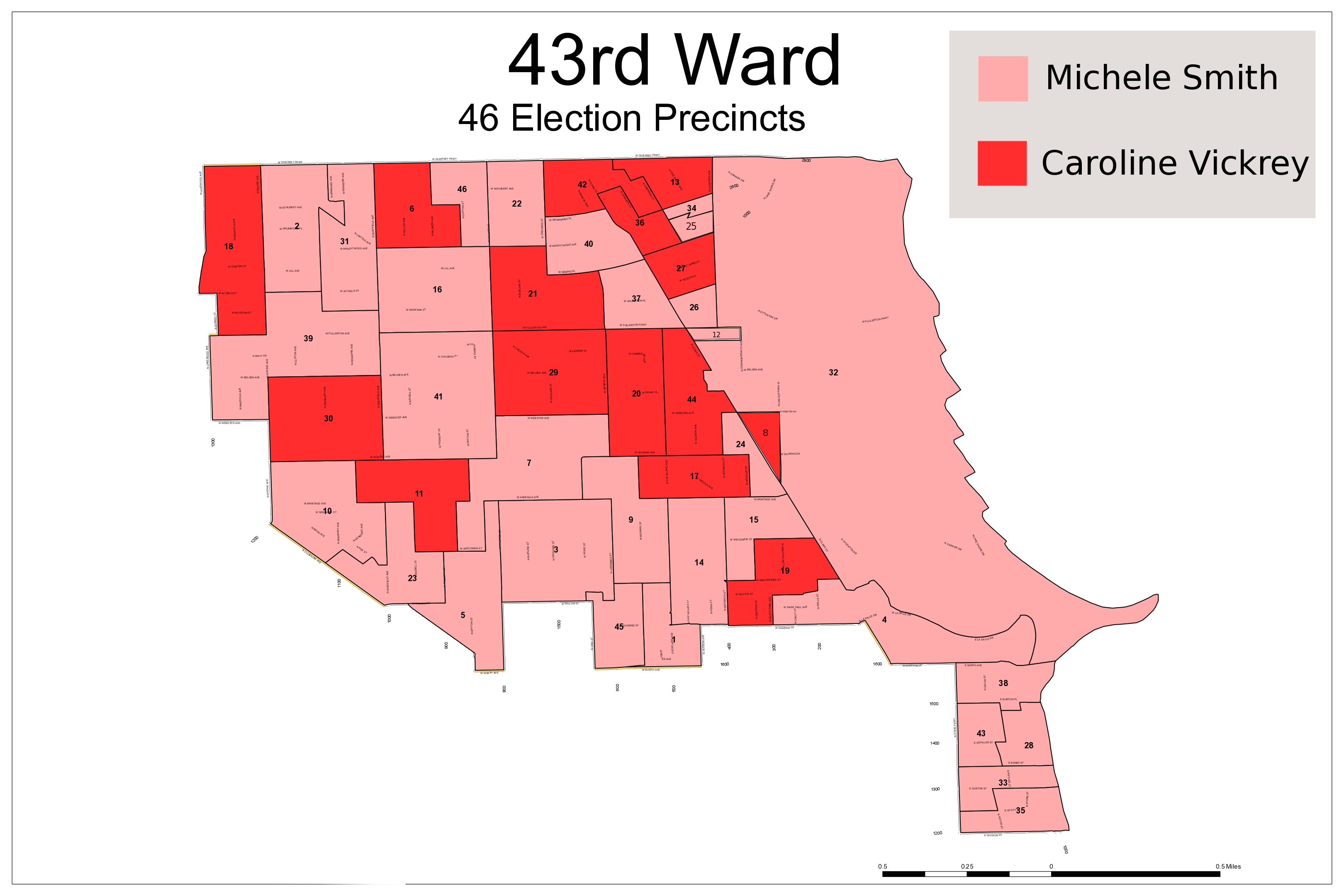 How Did Your Pocket of the 43rd Ward Vote A Deeper Look at the