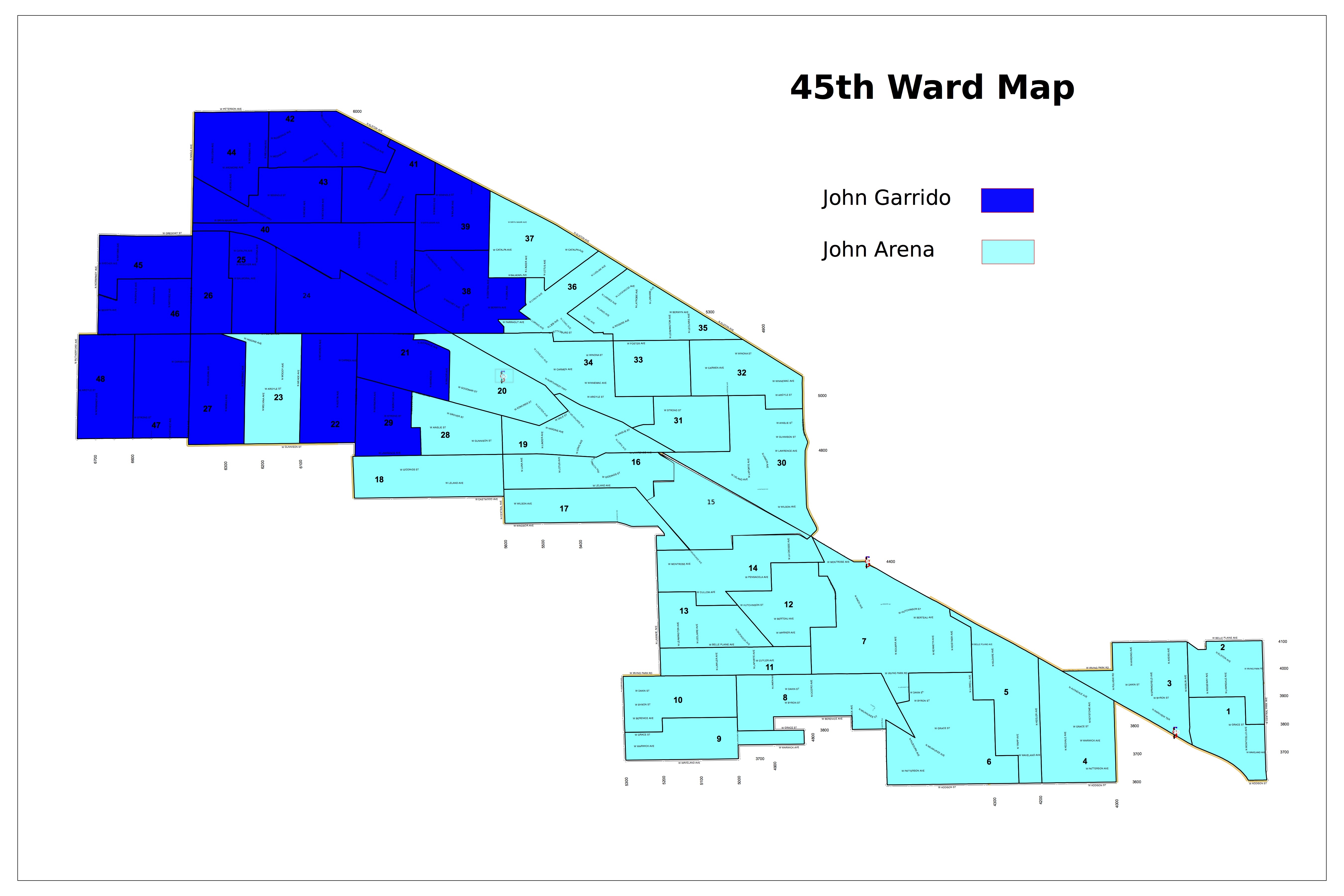 45th Ward Race Likely To Be Decided by Local Issues Despite