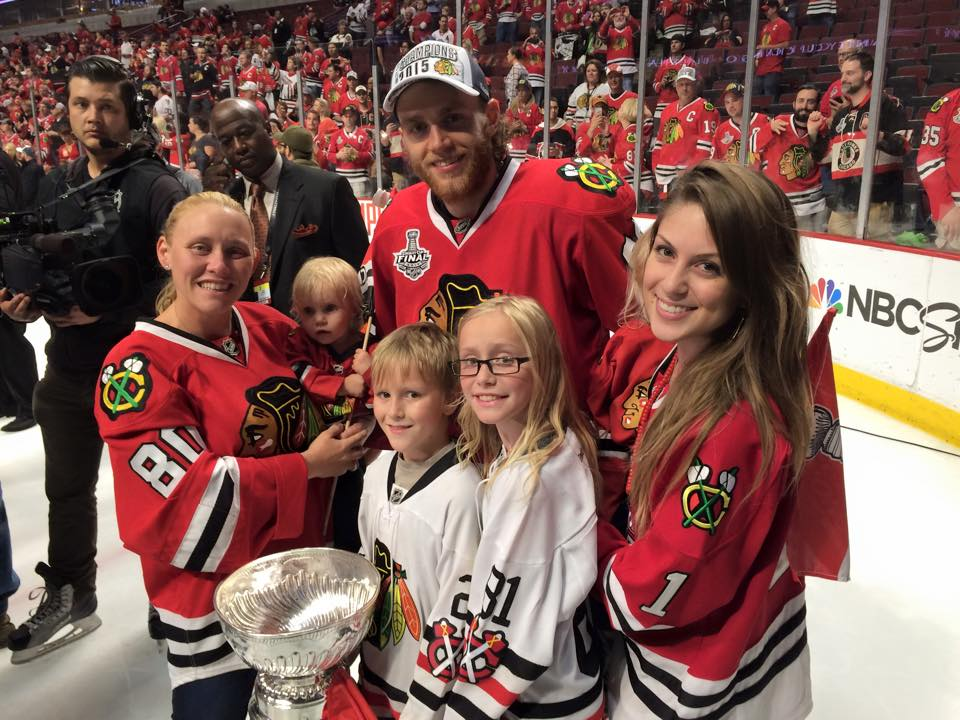 clint reifs wife kids celebrate stanley cup with