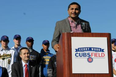 Kerry Wood Cubs Field is one of the projects that benefited from a TIF district Ald. Pawar plans to retire.