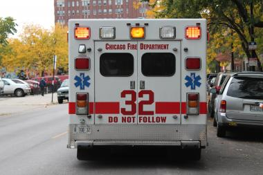 An 18-year-old man was taken to a local hospital in good condition after being shot in the leg on the South Side, police said.
